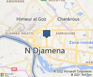 Bing Map of Glasgow United Kingdom