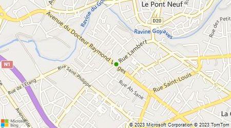 Plan d'accès au taxi Marguerite Gérard