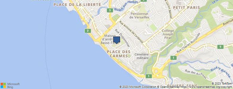 Localisation de Lycée général et TechnologiqueGERVILLE REACHE - Cliquez pour voir l'itinéraire
