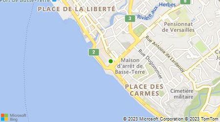 Plan d'accès au taxi Guillaume Franck
