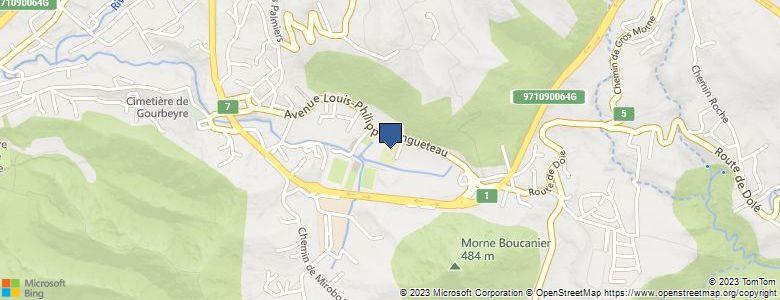 Localisation de CollègeRICHARD SAMUEL - Cliquez pour voir l'itinéraire