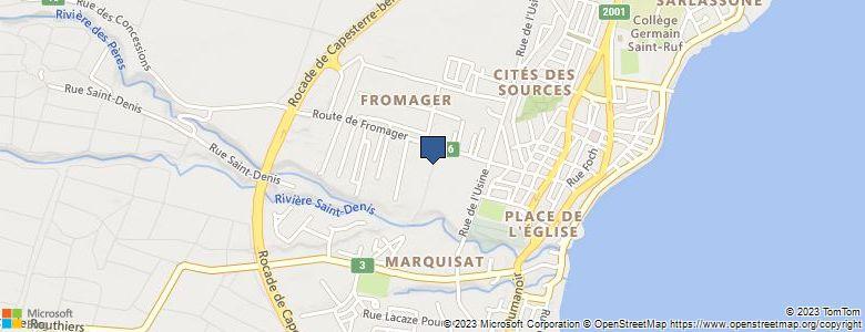 Localisation de CollègeGERMAIN SAINT-RUF - Cliquez pour voir l'itinéraire