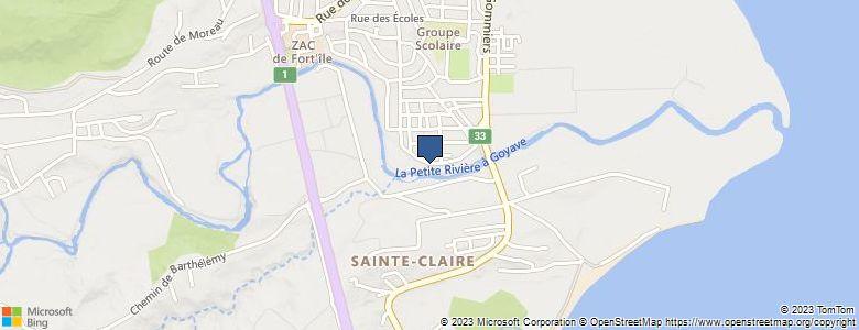Localisation de CollègeMATELIANE - Cliquez pour voir l'itinéraire