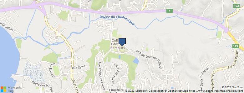 Localisation de CollègeEDMOND BAMBUCK - Cliquez pour voir l'itinéraire