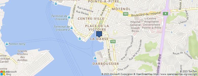Localisation de CollègeNESTOR DE KERMADEC - Cliquez pour voir l'itinéraire