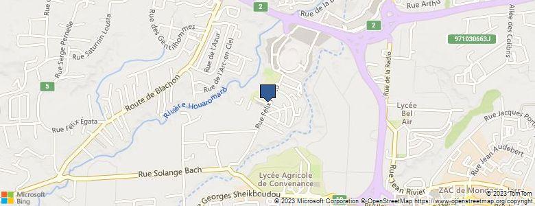Localisation de CollègeBAIE-MAHAULT 2 (Gourdeliane) - Cliquez pour voir l'itinéraire