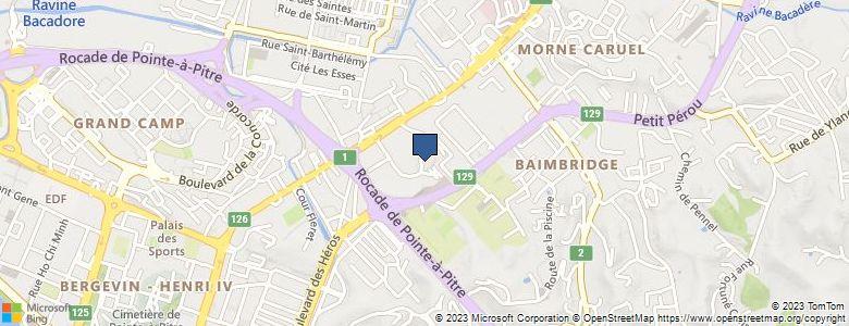 Localisation de Lycée général et TechnologiqueJARDIN D ESSAI - Cliquez pour voir l'itinéraire
