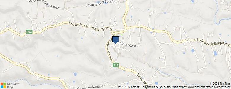 Localisation de CollègeOLYMPE RAME DECORBIN - Cliquez pour voir l'itinéraire