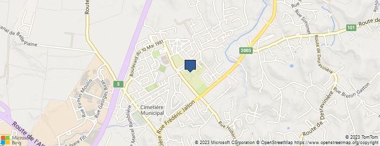 Localisation de CollègeALEXANDRE ISAAC - Cliquez pour voir l'itinéraire