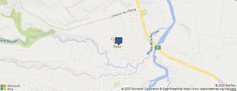 Localisation de CollègeBOIS RADA (LA BOUCAN) - Cliquez pour voir l'itinéraire