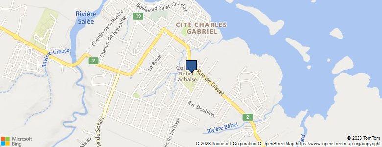 Localisation de CollègeBEBEL - Cliquez pour voir l'itinéraire
