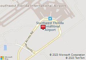 Map of Avis Location: Southwest Florida International Airport