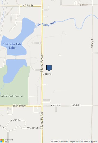 Chanute Kansas Map.Event Summary
