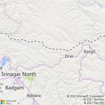 Baramulla District  Map . Surrounded by Kupwara District ,Ganderbal District ,Bandipora District , .