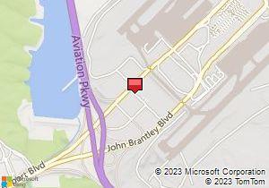 Rdu Airport Car Rental Map
