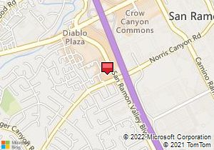 Avis Car Rental San Ramon (San Ramon, CA) San Ramon Ca Map on