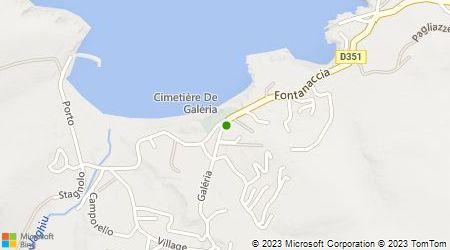 Plan d'accès au taxi Costa Ange