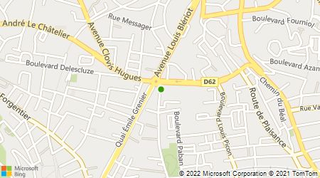 Plan d'accès au taxi Accès Central Radio Taxi