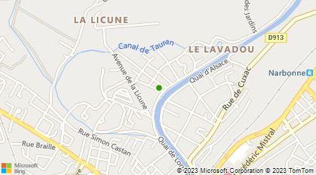 Plan d'accès au taxi Pauquet Olivier