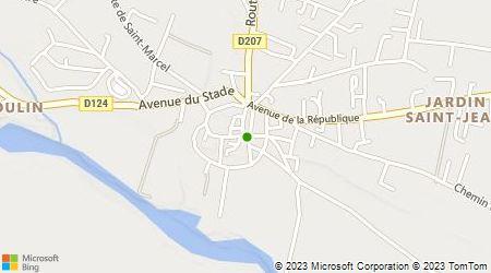 Plan d'accès au taxi 11 Taxi Cantagrel