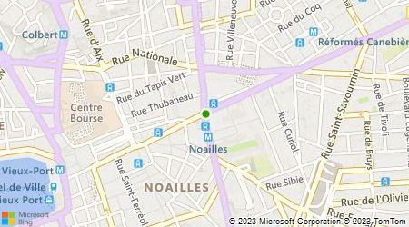 Plan d'accès au taxi Audion Jean Philippe