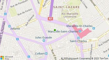 Plan d'accès au taxi Accueil Accent Provence