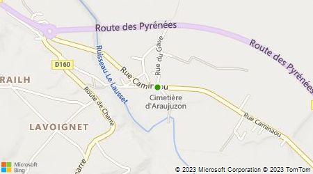 Plan d'accès au taxi Rey Patrice
