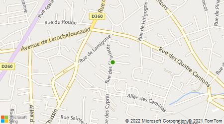 Plan d'accès au taxi Stephane Taxi 64