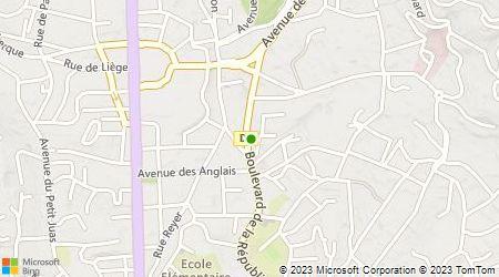 Plan d'accès au taxi Allo Jean Luc Taxi