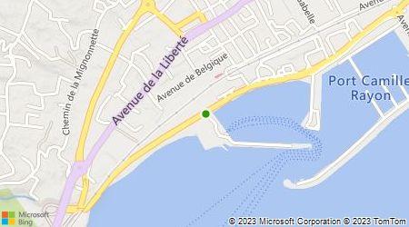Plan d'accès au taxi Taxi du Golfe