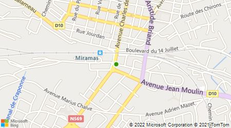 Plan d'accès au taxi Scanavino Didier