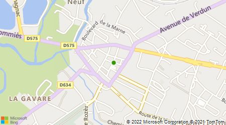 Plan d'accès au taxi Dethomas (Sarl)