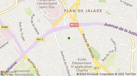 Plan d'accès au taxi Puyal (EURL)