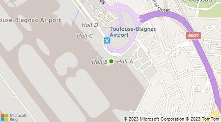 Plan d'accès au taxi Taxi Aéroport