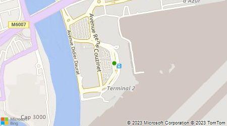 Plan d'accès au taxi Taxi Transfert Aéroport