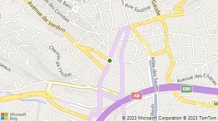 Plan d'accès au taxi Madera Taxi