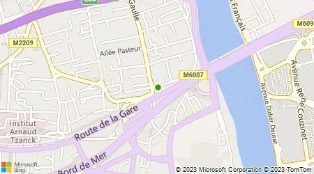 Plan d'accès au taxi Taxis Laurentins