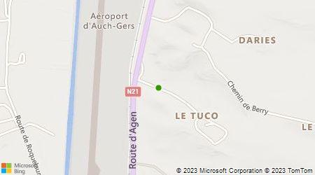 Plan d'accès au taxi 3T Taxi Transport Toulouse