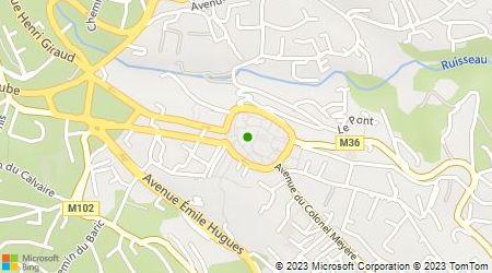 Plan d'accès au taxi Taxi Ludovic