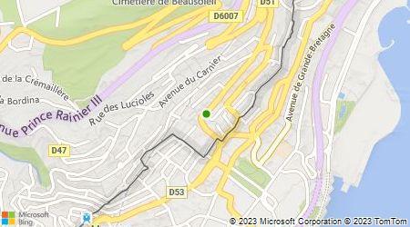 Plan d'accès au taxi Alcazar Alsace