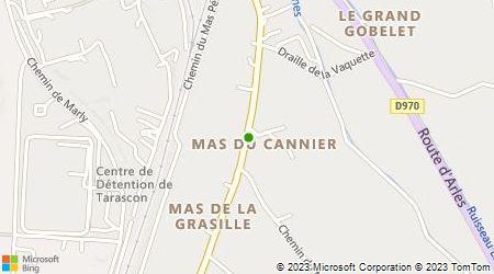 Plan d'accès au taxi Acces Accueil Radio Taxis Tarasconnais