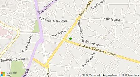 Plan d'accès au taxi Pontié Christophe