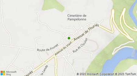 Plan d'accès au taxi A.Massoutié Fils (SARL)