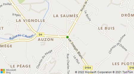 Plan d'accès au taxi Laganier Michel