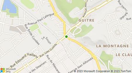 Plan d'accès au taxi Aéro Taxis A Mérignac