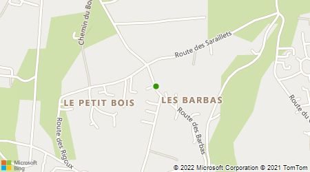 Plan d'accès au taxi 3 V St Sauveur Taxi
