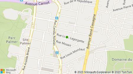 Plan d'accès au taxi De Orta Sylvie