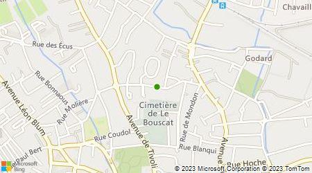 Plan d'accès au taxi Cazaillon Christine