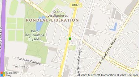 Plan d'accès au taxi Ortolani Marie-Josée