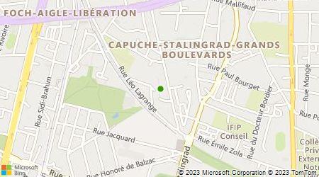Plan d'accès au taxi Breton Nicolas